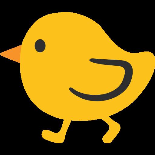 Chick Transparent Emojis