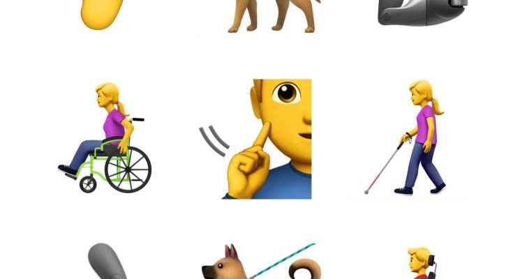 Apple proposes new accessibility emoji to include guide dogs