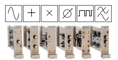 TIMS plug in modules as functional blocks