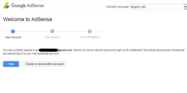 getting AdSense approval for 1 month old domain