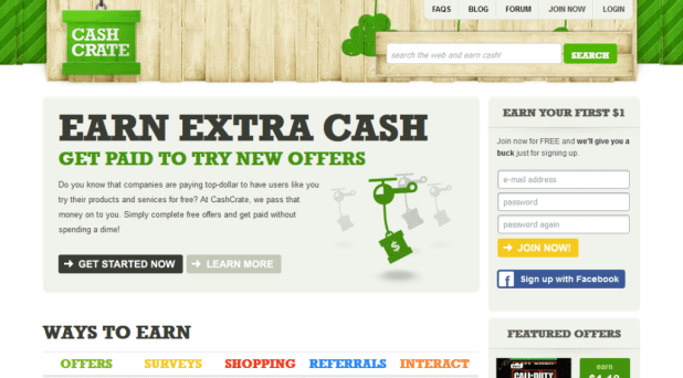 make money online with Cashcrate scam or legit review