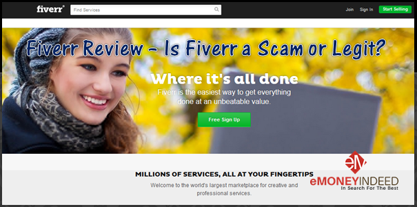Fiverr Review - Fiverr a Scam or Legit