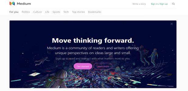 Best Blogging Platform Medium