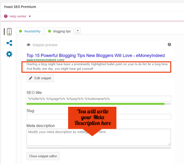 How To Add Meta Description To WordPress Posts