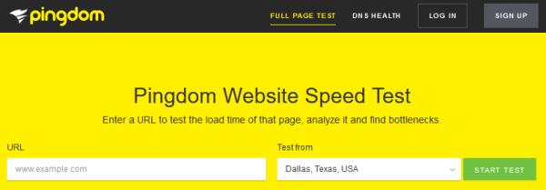 Website Speed Test Tool