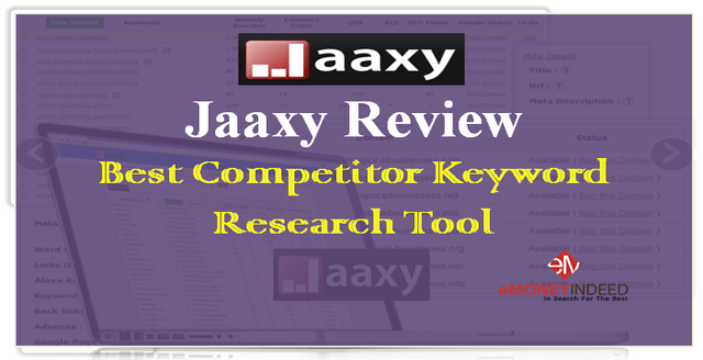 Jaaxy Review – Best Competitor Keyword Research Tool