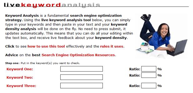 Live Keyword Analysis Tool