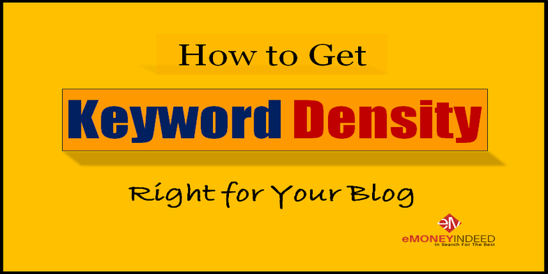 How to Get Keyword Density Right for Your Blog