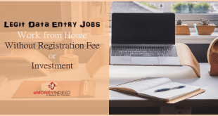 Legit Data Entry Jobs from Home Without Registration Fee