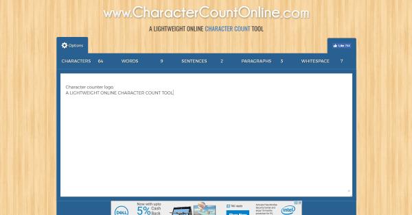 Character Count Online