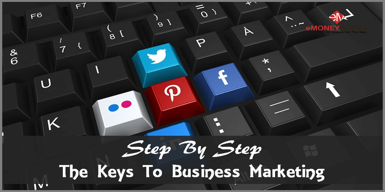 Step By Step The Keys To Business Marketing