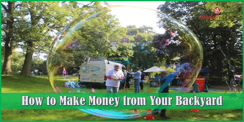 How To Make Money From Your Backyard Emoneyindeed