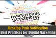 Desktop Push Notification Best Practices for Digital Marketing