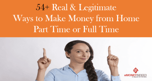 Real & Legitimate Ways to Make Money from Home Part Time or Full Time