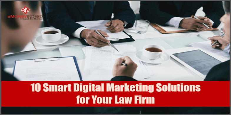 10 Smart Digital Marketing Solutions for Your Law Firm