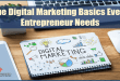 The Digital Marketing Basics Every Entrepreneur Needs