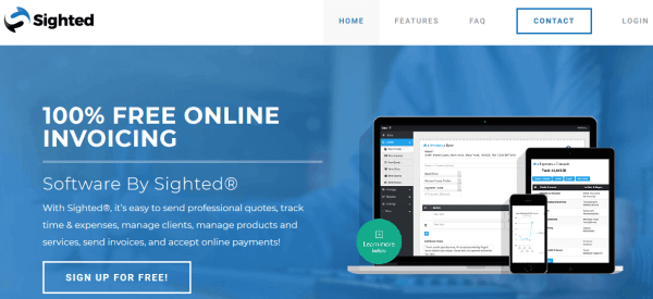 Sighted - free online invoicing