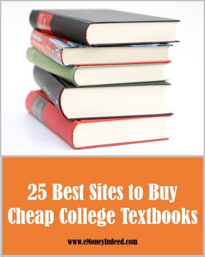 25 Best Sites to Buy Affordable College Textbooks