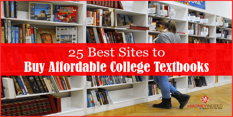 25 Best Sites to Buy Cheap College Textbooks