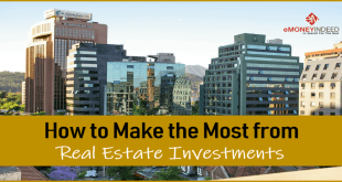 How to Make the Most from Real Estate Investments