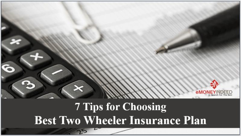Choosing Best Two Wheeler Insurance Plan