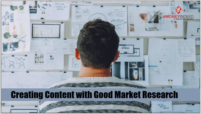 Creating Content with Good Market Research