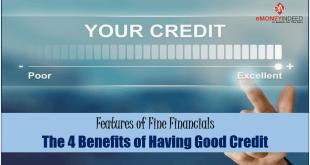 Benefits of Having Good Credit