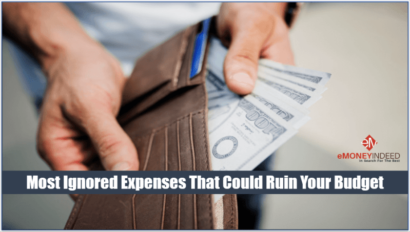 Expenses That Ruin Your Budget