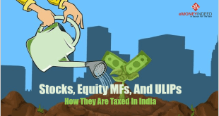 Stocks-Equity-MFs-And-ULIPs-Taxation