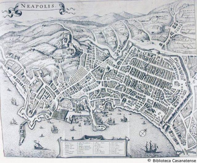 Neapolis mura greche Napoli