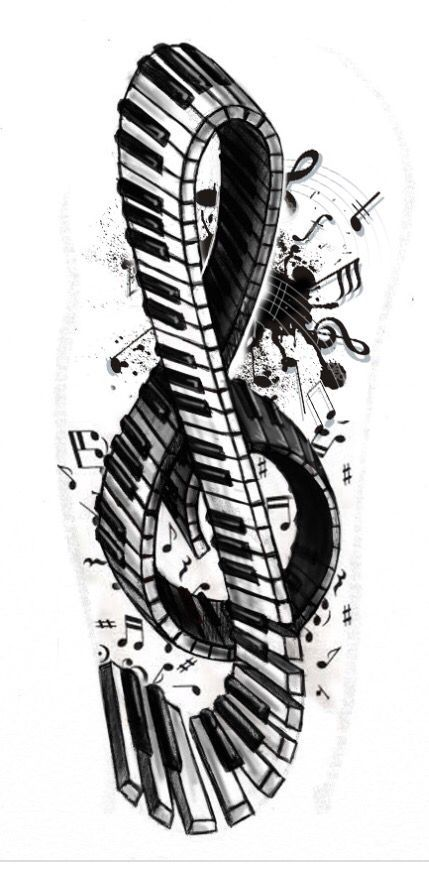 ce201d384df32d67dbca82c9764f3a17--music-tattoos-music-artwork