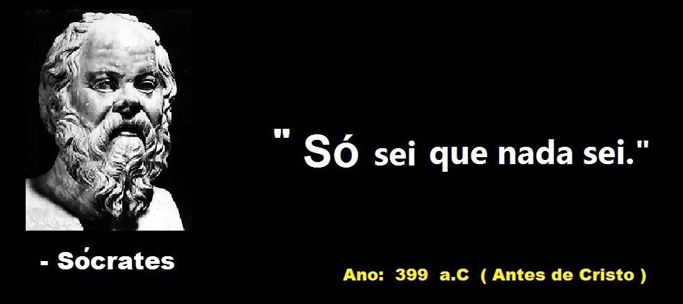 So Sei Que Nada Sei Frase De Socrates: 150 Frases De Pensadores Famosos