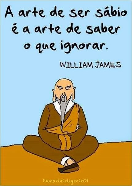 Frase sábia de William James