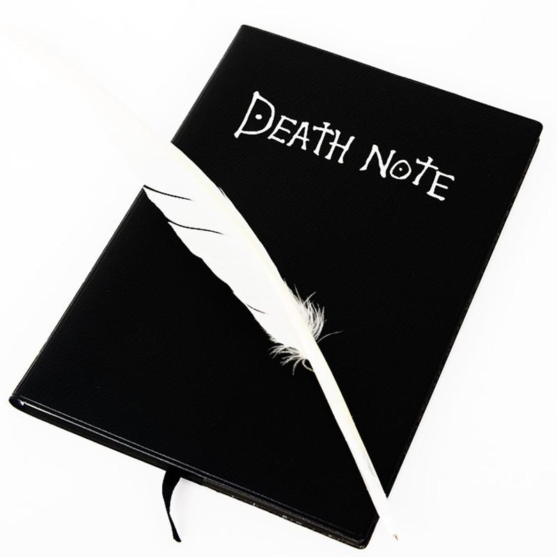 Vintage-Anime-Pleanner-Agenda-Organizer-Notebook-font-b-Death-b-font-font-b-Note-b-font