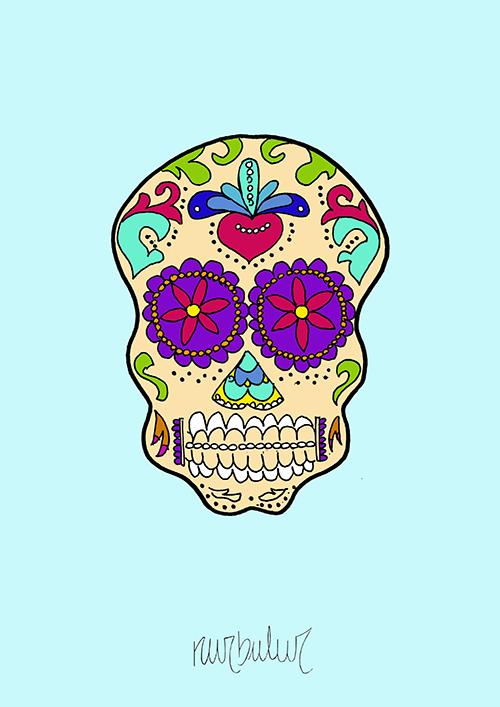 wallpaper_Calaveras-mexicanas