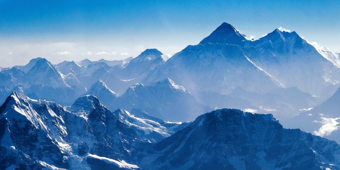 Everest, up close