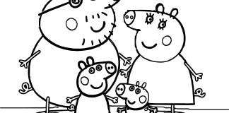 Peppa Pig para colorir