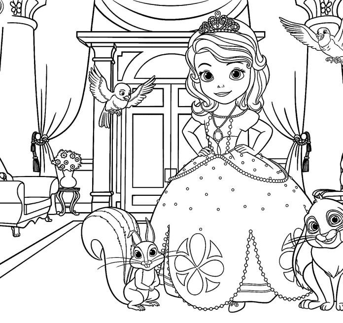 Imagens Da Princesa Sofia Para Colorir 443457 Hd Wallpaper