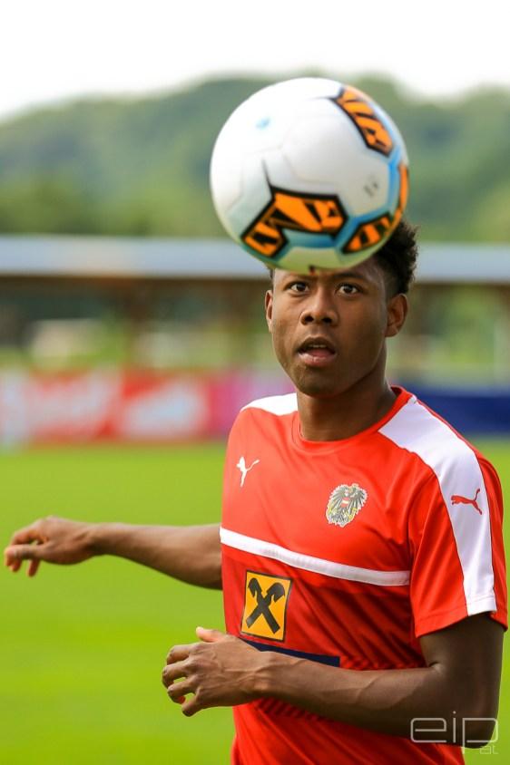 Sportfotografie Fußball David Alaba Stegersbach - emotioninpictures / Mario Bühner