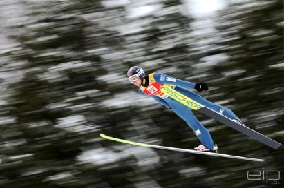 Sportfotografie Nordische Kombination Skispringen Jarl Magnus Riiber Ramsau - emotioninpictures / Mario Bühner / Fotograf aus Graz