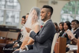 Catholic Wedding, Church of Divine Mercy: Prakash + Winnie