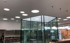 Schlüter System España  Renueva su Showroom con E-Tecnileds iluminación.