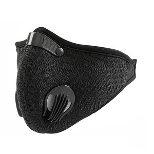 Outdoor Activated Carbon Cycling Mask with KN95 Filter Breathable Mask