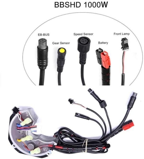 Ebike Controller for Bafang BBSHD 52V 28AH 1000W