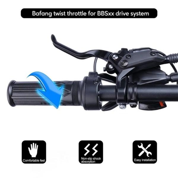 E-bike Twist Throttle for BBS BBSHD