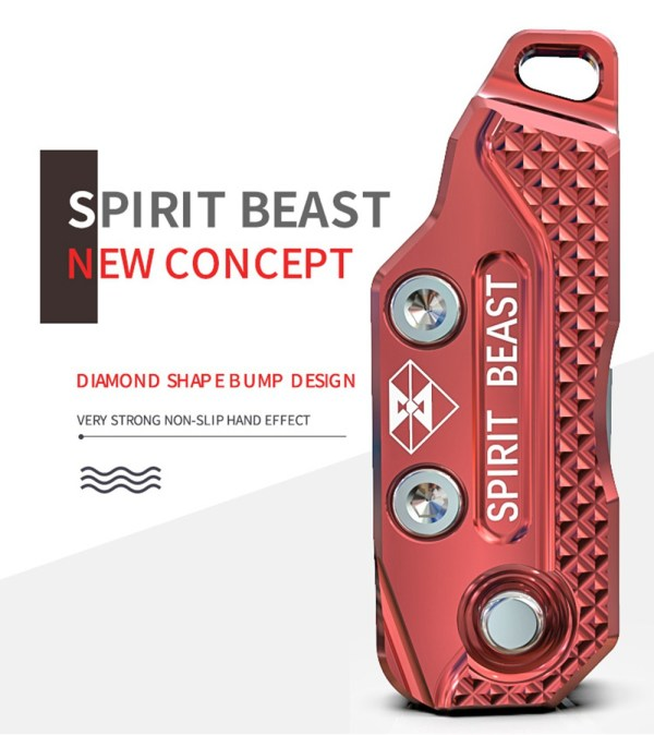 Spirit Beast Motorcycle Key Head Case Cover for Benelli