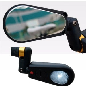 Adjustable 360 Rotatable Handlebar Rearview Mirror