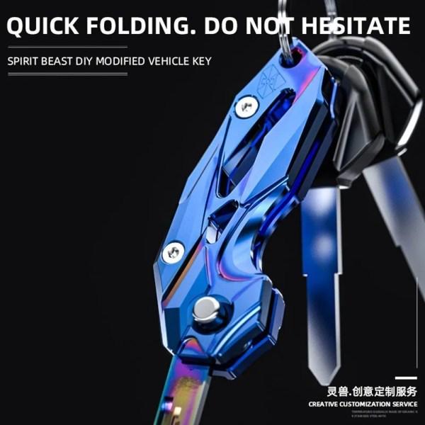 Spirit Beast Motorcycle Folding Key Head Modification Accessories