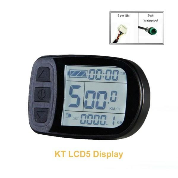 Bicycle Conversion Accessories Display KT-LCD5 E-bike Meter Display