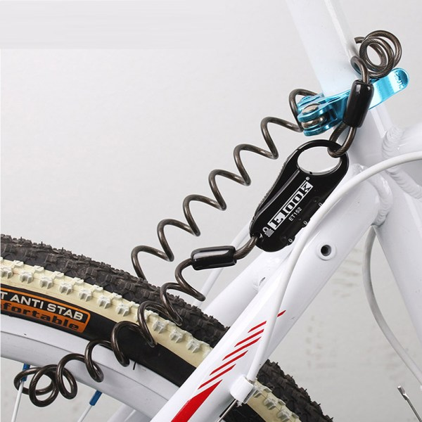 3 Digital Code Security Mountain Bike Combination Cable Lock Bicycle Accessories Cycling Anti Theft Mini Safetylock